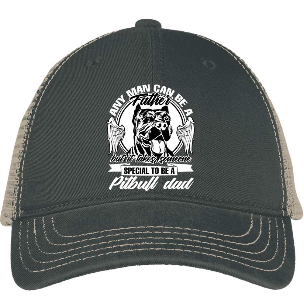 Pitbull Mom Fashion Adjustable Cotton Baseball Caps Trucker Driver Hat Outdoor Cap Black