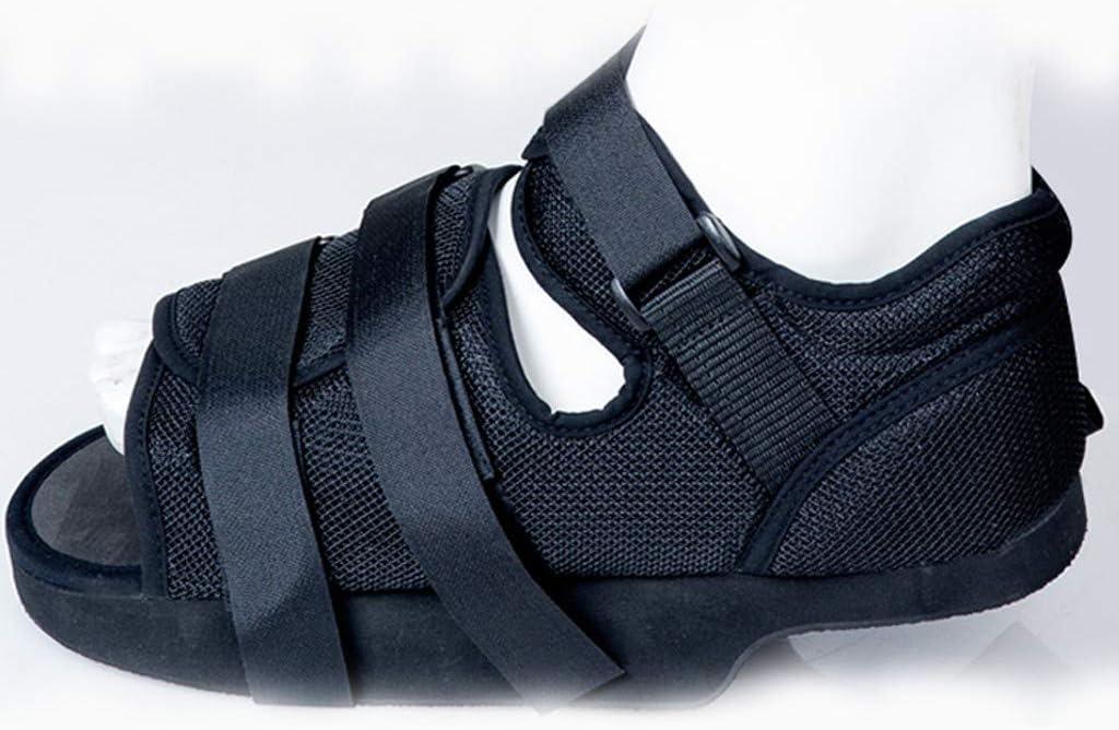 GuoYQ Zapatos Post Quirúrgico Zapatos de Yeso Zapatos de Recuperación de Fracturas, Soporte Ortopédico Fractura de Pie Ideal para Hombre y Mujer Apto