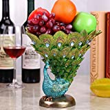 JY$ZB Creative resin crafts peacock fruit pot decoration home office windows
