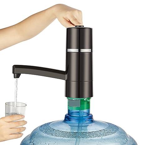 ZREAL Dispensador portátil de la bomba del botón del agua potable del dispensador de la botella