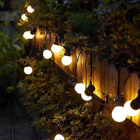 SXHY LED Cadena Luces del jardín, a Prueba de Agua Bola de Luces Decorativas de Interior