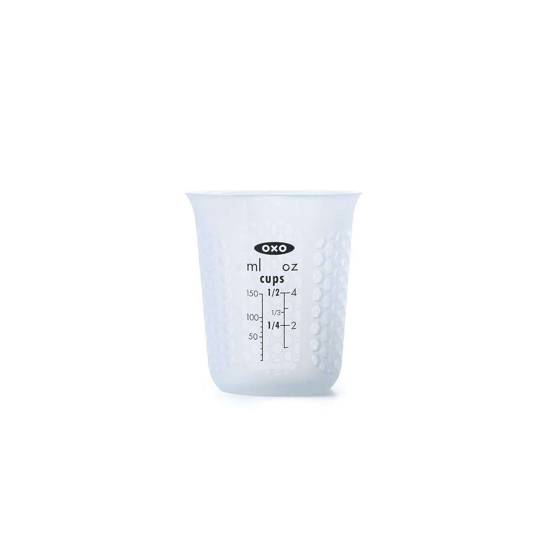 Transparente Silicona OXO Good Grips Taza de medir 1/L