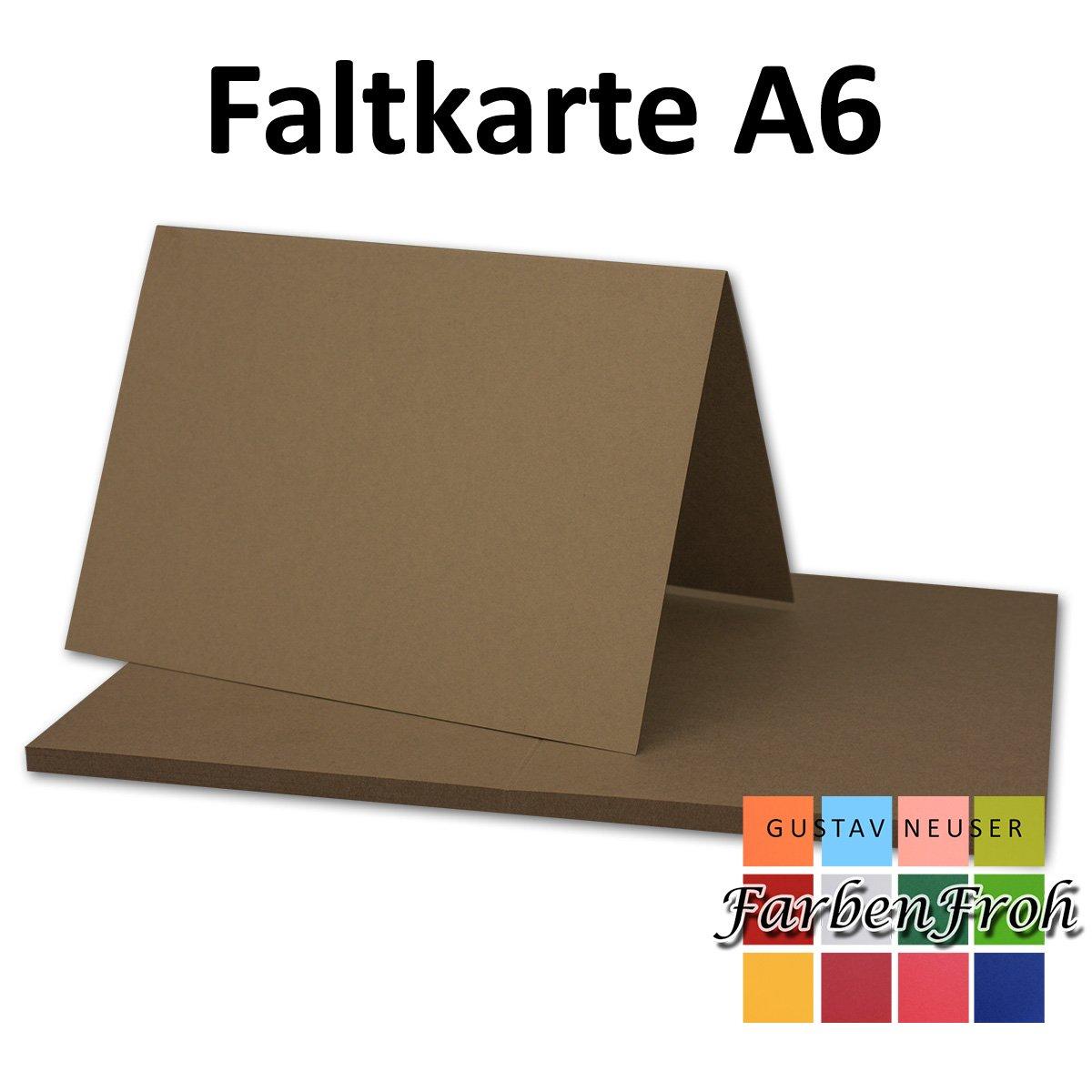 250x Falt-Karten DIN A6 Blanko Blanko Blanko Doppel-Karten in Hochweiß Kristallweiß -10,5 x 14,8 cm   Premium Qualität   FarbenFroh® B07KJ8Q1V5 | Lebensecht  8b70c3