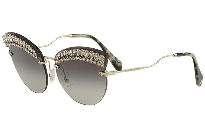 Miu Miu 58TS SOLE Gafas de sol Mujer: Amazon.es: Ropa y ...