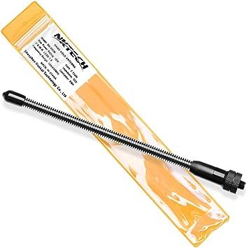NKTECH Antena de doble banda SMA-F para BaoFeng BF-F8HP BF-F9 UV-5R V2+ PLUS DM-5R UV-82HP UV-82 UV-6R GT-5TP GT-3 GT-5 8W UV-B5 UV-B6 UV-9R KENWOOD ...
