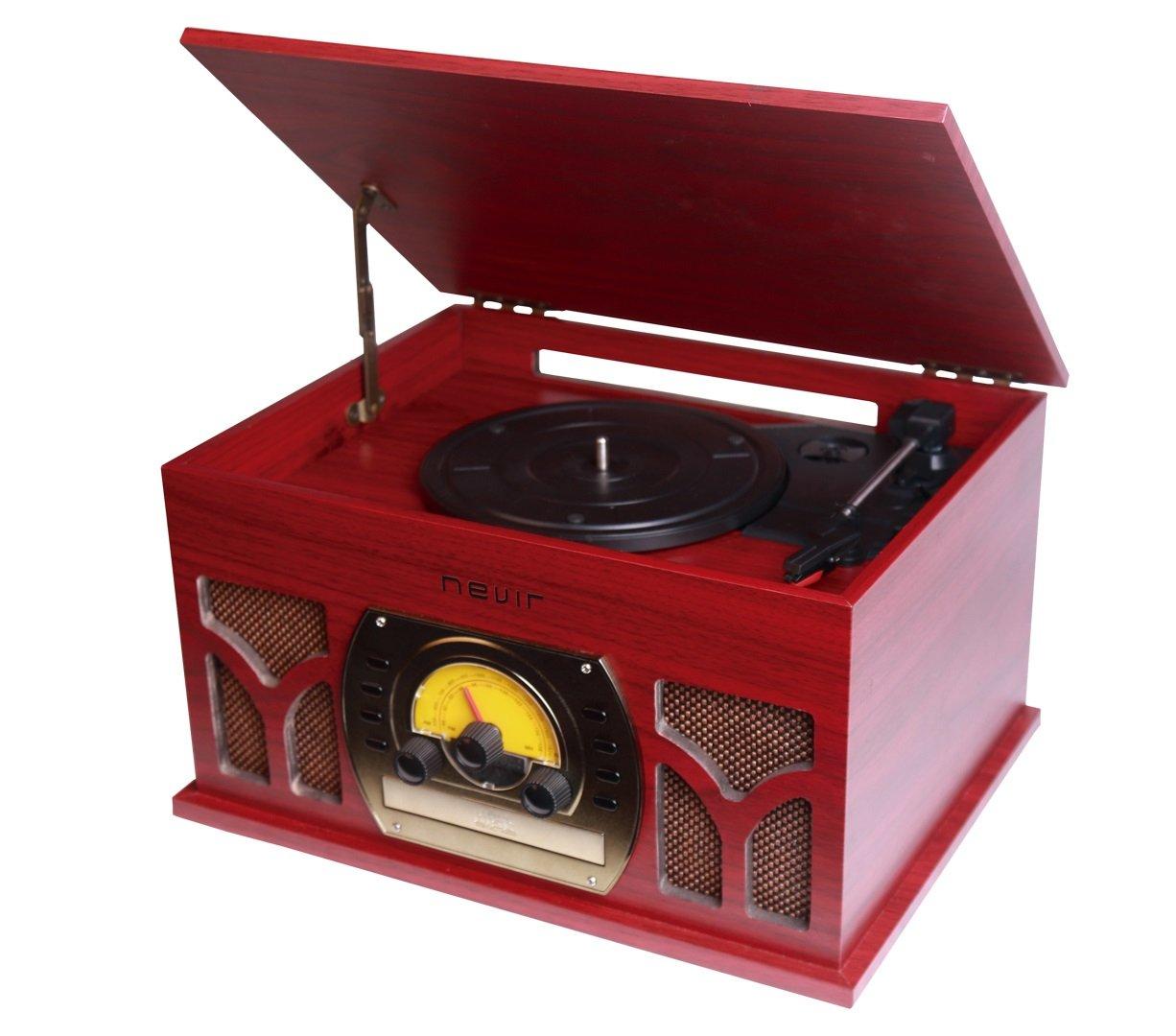 Nevir NVR-806VRBUC tocadisco - Tocadiscos (Tocadiscos de tracción ...