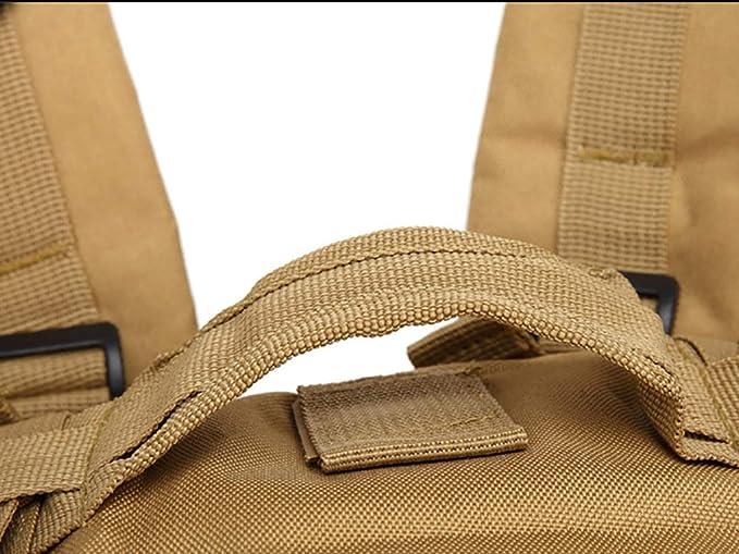 mochila Molle militar de 50 litros para camping supervivencia senderismo paquete de asalto de 3 d/ías caza MatSailer Mochila t/áctica militar para exteriores pesca y viajes