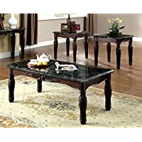 247SHOPATHOME Idf-4292EX-3PK Living-Room-Table-Sets, Espresso