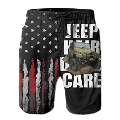 Jngjs Mens Quick Dry Beach Board Shorts with Mesh Lining Beach Briefs