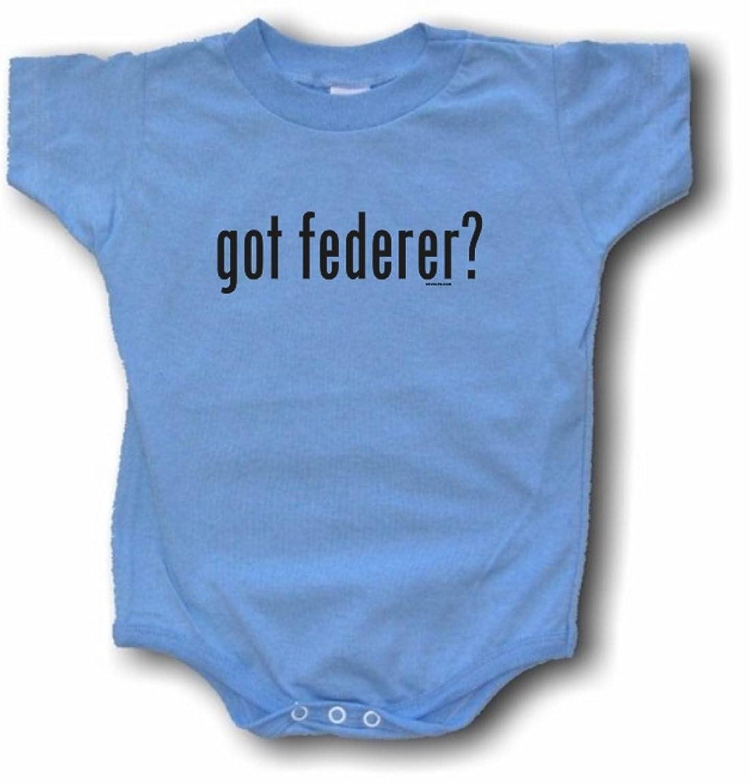 Amazon Got Federer Logo Baby Infant Tee Shirt or e Piece