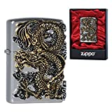 Zippo FLYING DRAGON NI South Korea Version GENUINE and ORIGINAL Packing