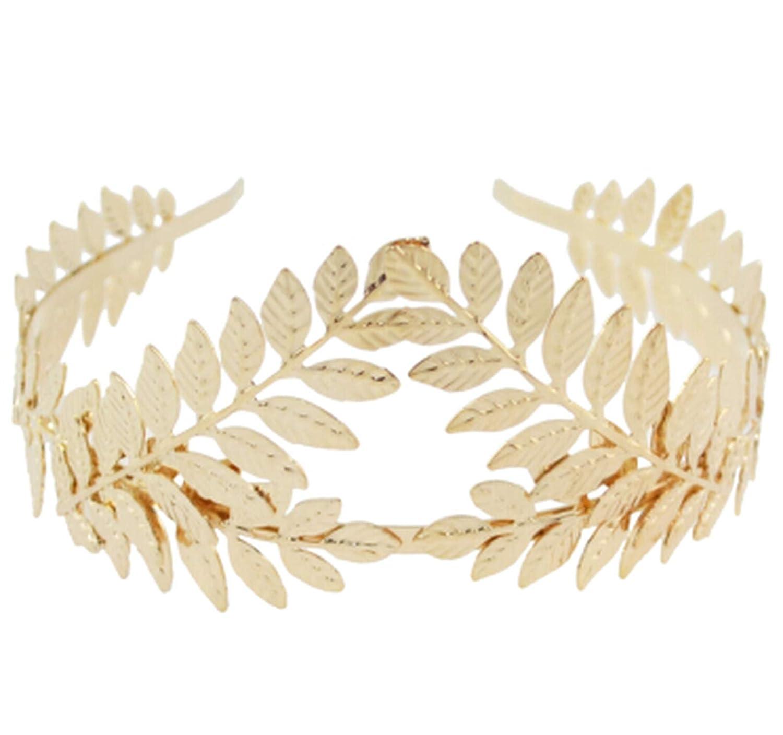 Baroque Silver Gold Hairbands Headbands Crown Leaf Bridal Wedding Hair Piece Accessories Head,A