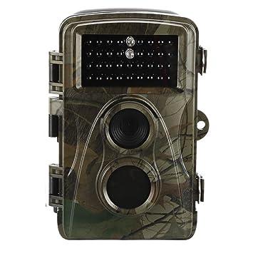 Luck Star - Cámara de caza para exteriores, 12 MP, 1080P, cámara de