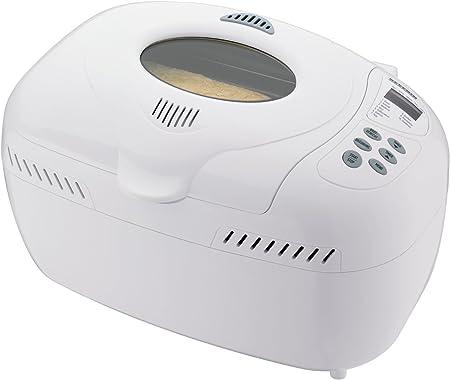 Severin BM 3986, Blanco, 800 W, 292 x 293 x 438 mm - Máquina de hacer pan: Amazon.es: Hogar