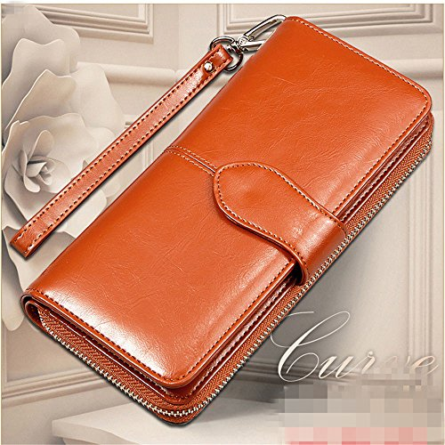 New Fashion Lady Women Leather Wallet Long Card Holder Case Clutch Purse - Store Finder Fossil