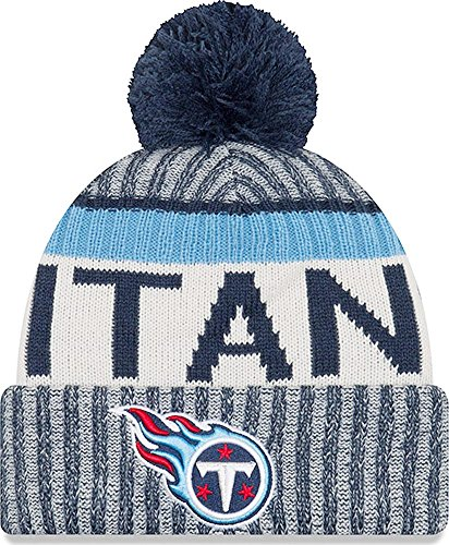 New Era Tennessee Titans NFL Sideline On Field 2017 Sport Knit Beanie Beany 9d2d42072