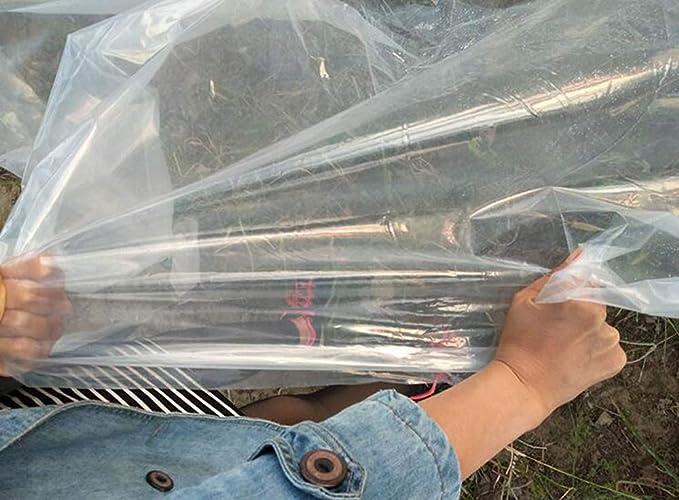1mX1m XRFHZT Lona de pl/ástico Transparente para protecci/ón contra la Lluvia
