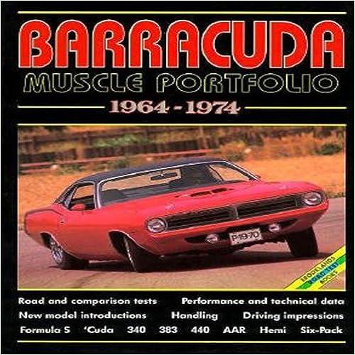 Plymouth Barracuda Muscle Portfolio 1964-1974