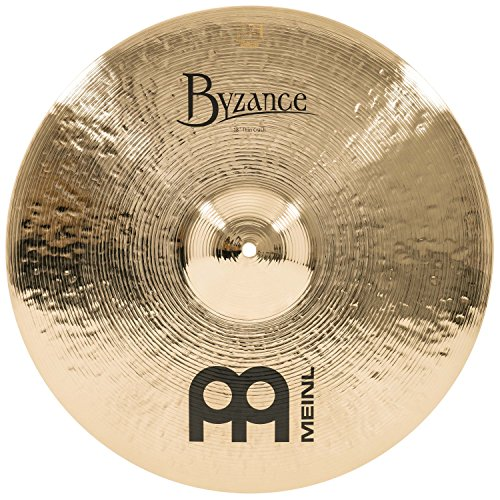 Meinl Cymbals B18TC-B Byzance 18-Inch Brilliant Thin Crash Cymbal (VIDEO)
