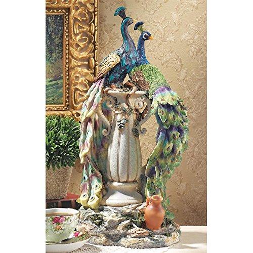 Peacocks in Paradise Statue