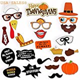 • 25 pcs of Colorful Thanksgiving Photo Booth Props.  • New Design !!!  • Great Quality Photo Booth Props will Help you Create Unique Unforgettable Memories.  • Perfect addition to your Thanksgiving Dinner • Size is Suitable for Both, Kids an...