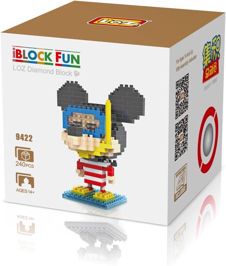 Micro Block Disney - Topolino al Mare: Amazon.es: Juguetes y juegos