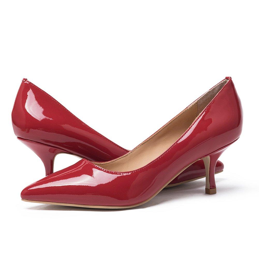 Damen Pumps Mit Absatz Nude Buro Schuhe Frauen Klassische