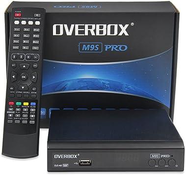 Freesat Receptor de Satélite Digital / Freesat Box Recorder HD Receptor de HD, M9S PRO PVR TV