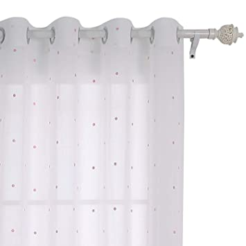 Deconovo Voile Vorhang Mit ösen Dekosachl Transparent Stores