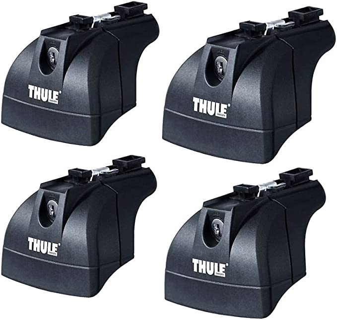 Thule Rapid System 753 4 Teiliger Dachträger Fußsatz Sport Freizeit