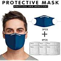 N/A Gesix 3PC Reutilizables Cara ṁáscaṙas Protector