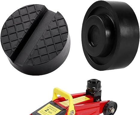 Gummiauflagen für Wagenheber Rangierwagenheber Gummiplatte Gummiblock  Werkstatt