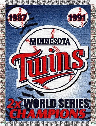 Northwest Minnesota Twins Commemorative Tapestry - Minnesota Twins One Size ()