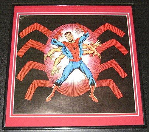 Amazing Spiderman Peter Parker Original Framed 1978 Marvel Poster 12X1
