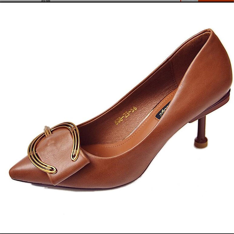 26c22efd 70% OFF Qyyhuo Cabeza Pequeña Y Pequeños Zapatos Zapatos Superficial  Coreano Cinturones De Cuero Zapatos
