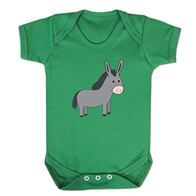 Funny Baby Grows Cute Baby Clothes for Baby Boy Baby Girl Bodysuit Vest  Little Donkey Emoticon  Amazon.co.uk  Clothing adb0324f2c2