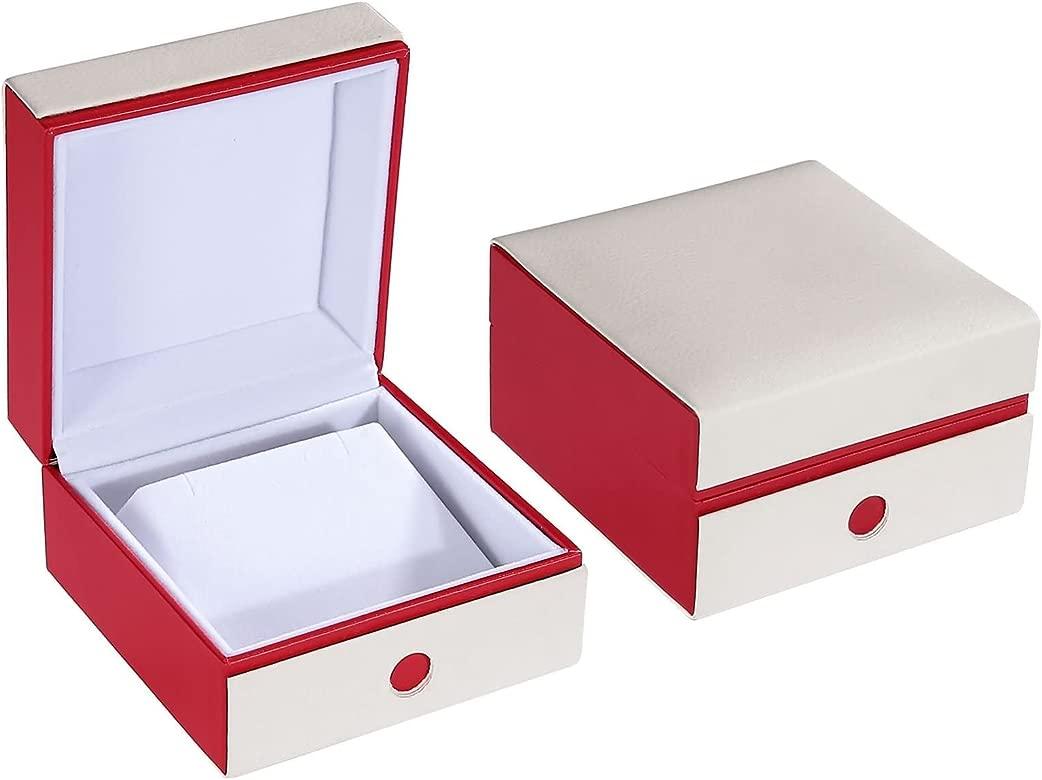 Blisfille Caja de Regalo Redonda Joyas para Novia Regalos ...