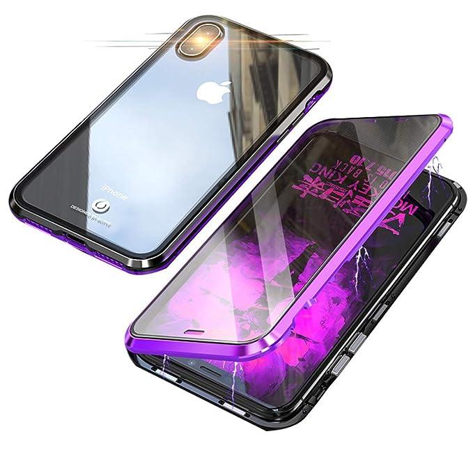 12 opinioni per Jonwelsy Custodia per iPhone XS/X, Tecnologia di Adsorbimento Magnetico Bumper