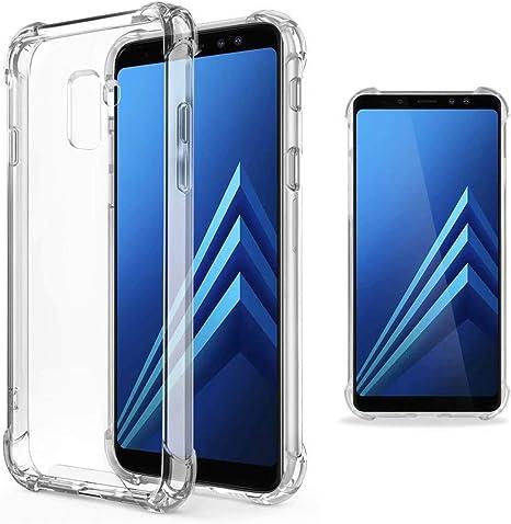 JJWYD Funda para Samsung Galaxy A8 2018, Ultra Fina Silicona ...