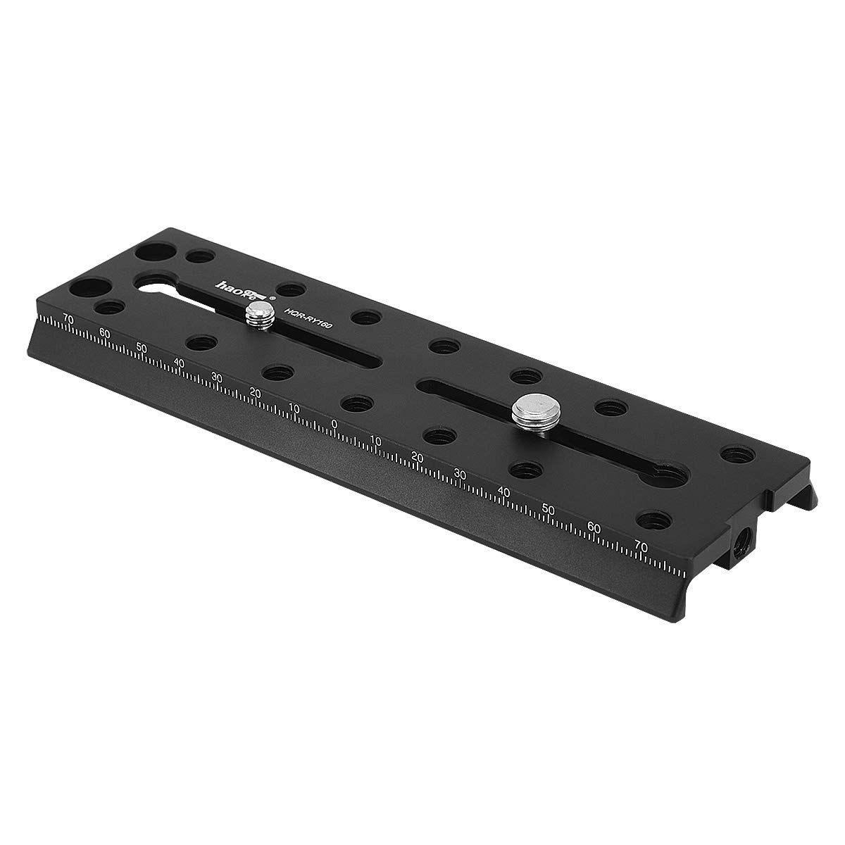 Haoge HQR-RY160 160mm Multi-purpose Long Camera Extender Rail Mounting Quick Release Plate for DJI Ronin-S Ronin S Gimbal Stabilizer