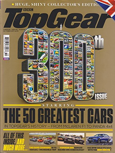 BBC Top Gear Magazine October 2017 300th ()