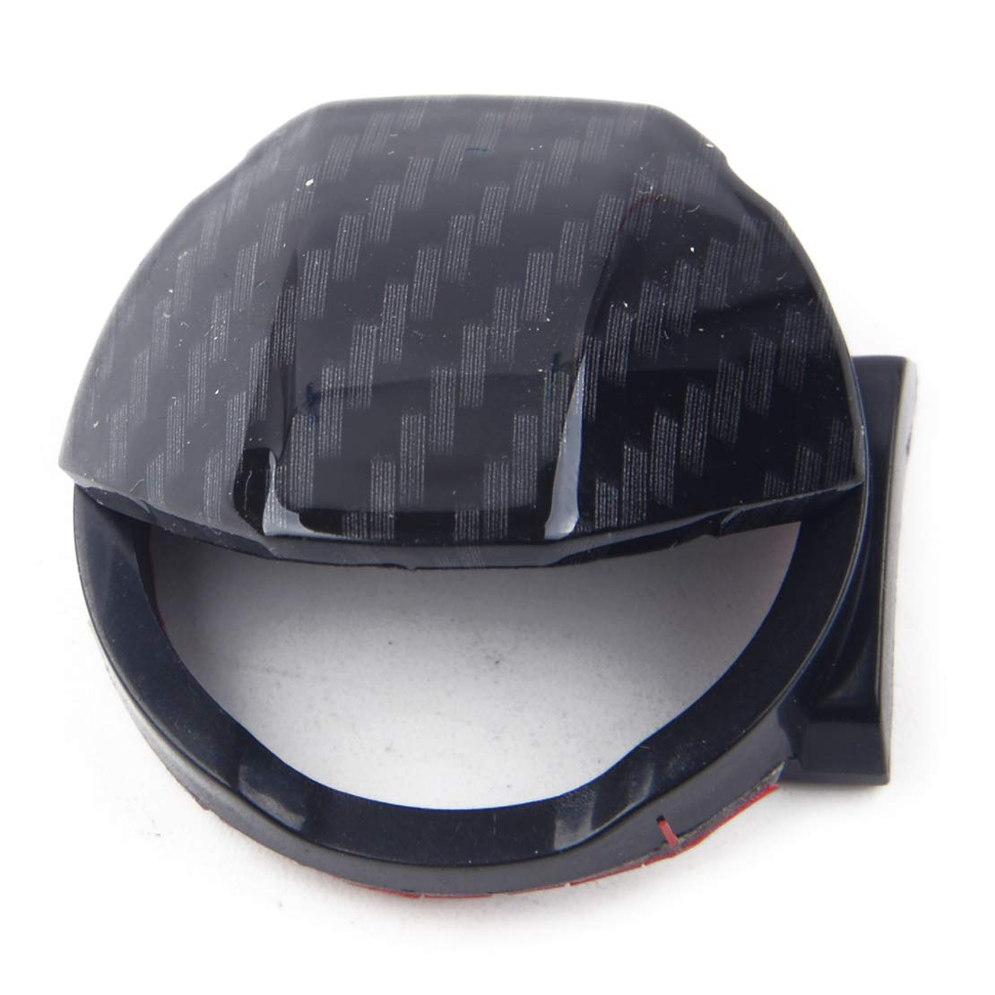 CITALL Auto Kohlefaser Stil Z/ündung Motor Start Stopp Taste Schalter Abdeckung Kappe Abdeckung Trimmung