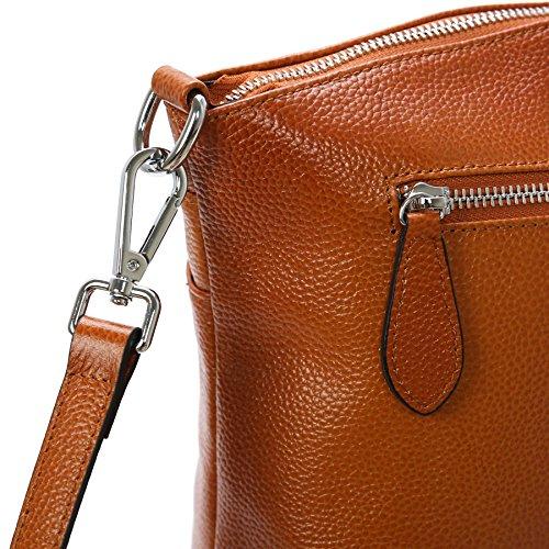 for Satchel Bag Small Womens Crossbody Sorrel Handbag Bags Ladies Heshe Shoulder Handbags and Designer Leather Purses qOvxHwWI