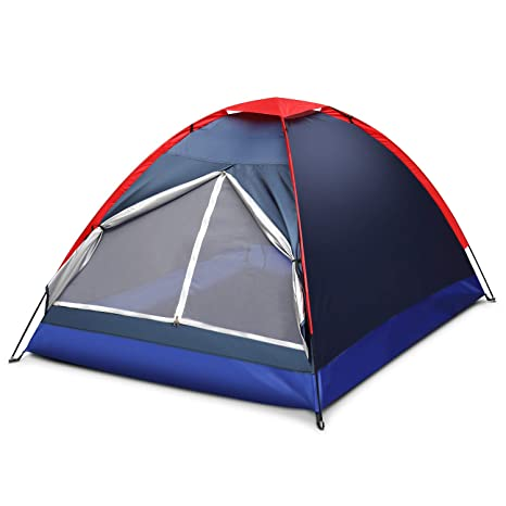 24700ad73e8 Amazon.com   Flexzion 2 Person Camping Tent
