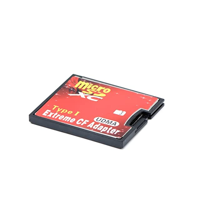 QUMOX Micro SD a CF Tarjeta Compact Flash Memory Lector Adaptador ...