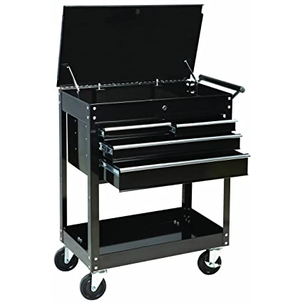 Amazon Com Maxworks 40106 Four Drawer Roller Service Cart 580