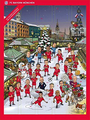Calendrier Bayern.Calendrier De L Avent 2015 Du Fc Bayern 2015 Avec Chocolats