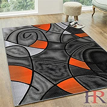 rugs orange burnt and grey area green rug s