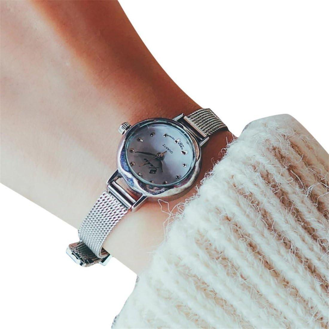 Amazon.com: HANYI - Reloj de pulsera analógico de cuarzo ...