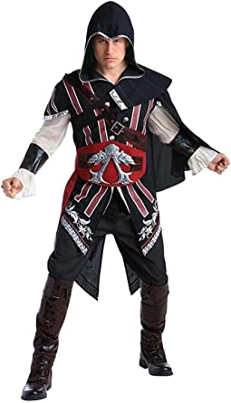 Amazon Com Palamon Assassin S Creed Ezio Deluxe Adult Costume Xl